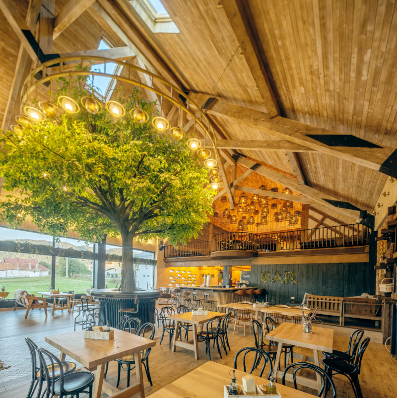 Restaurant D.O.R. interior (copac interior)